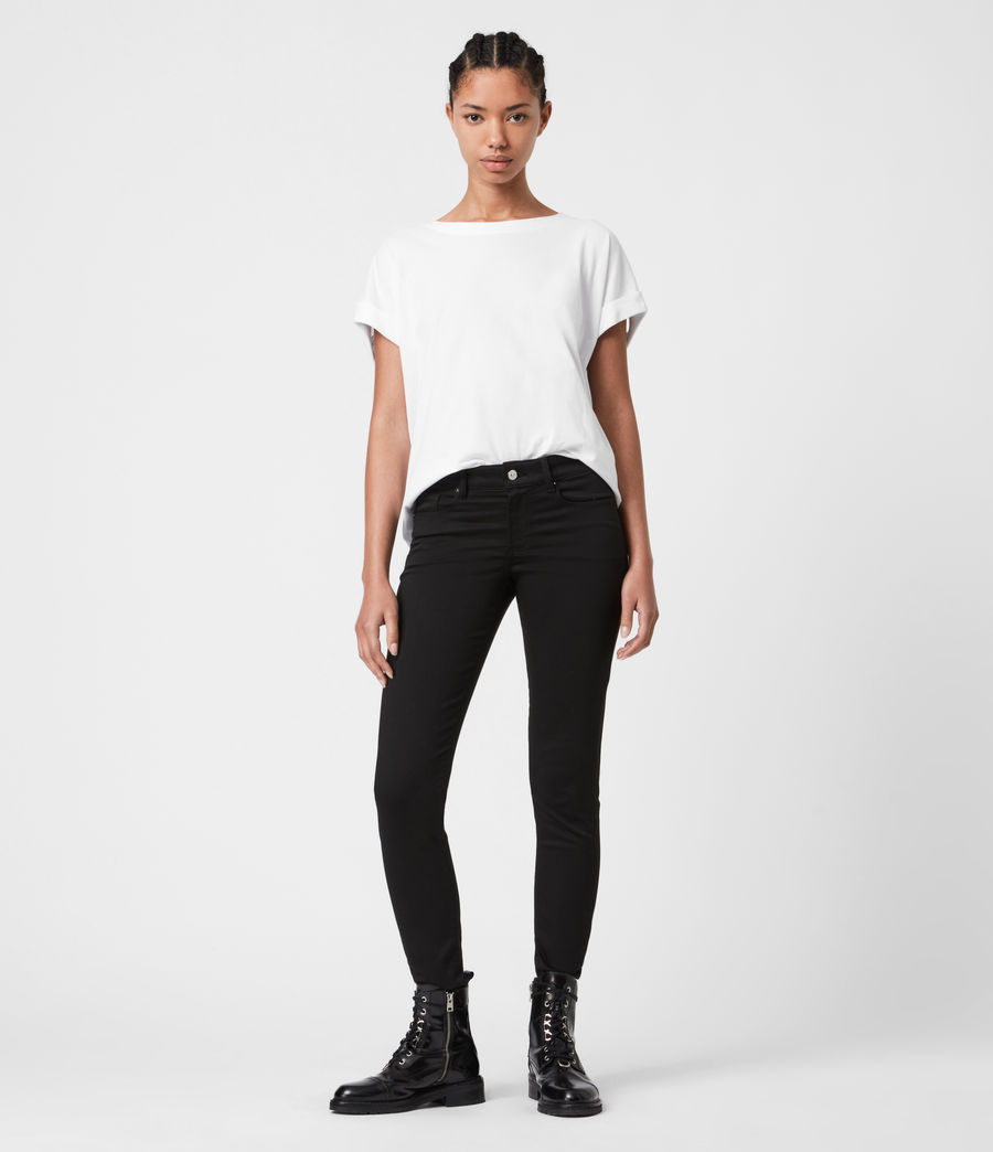 Women's Imogen Boy Jaine T-Shirt (optic_white) - Image 4
