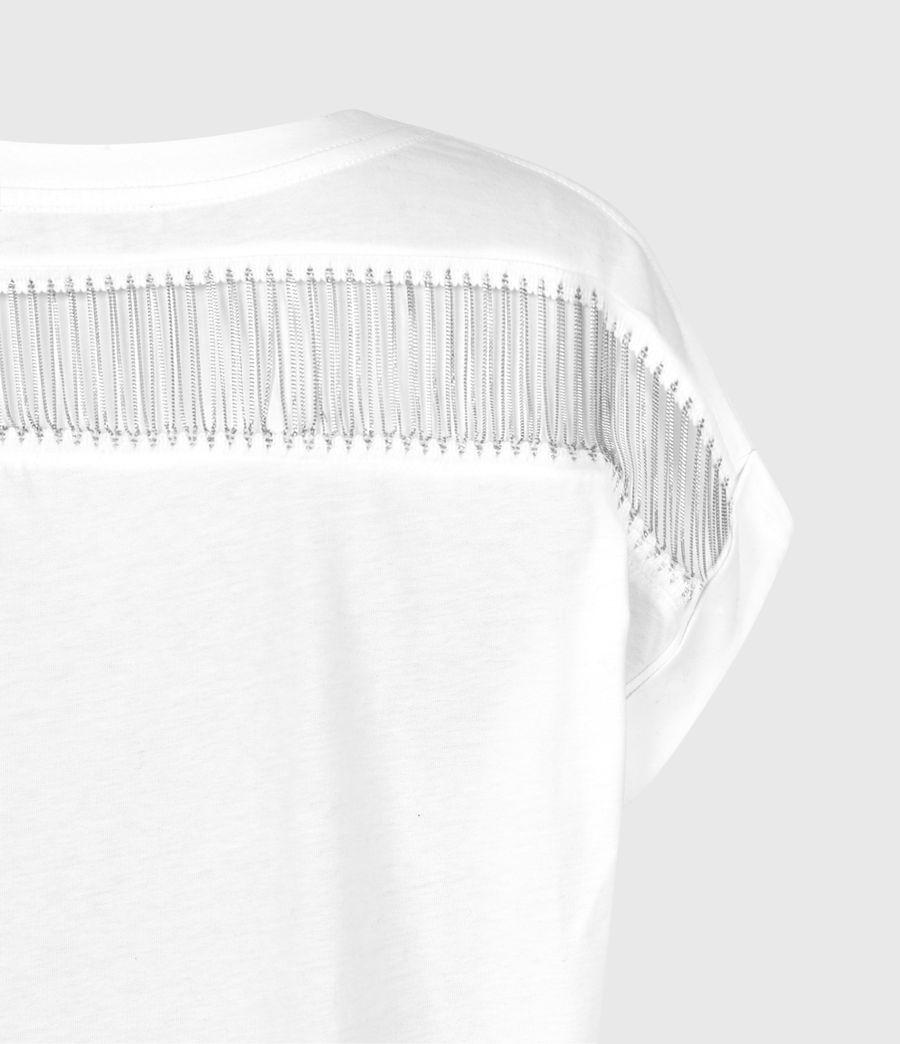 Women's Imogen Boy Jaine T-Shirt (optic_white) - Image 5