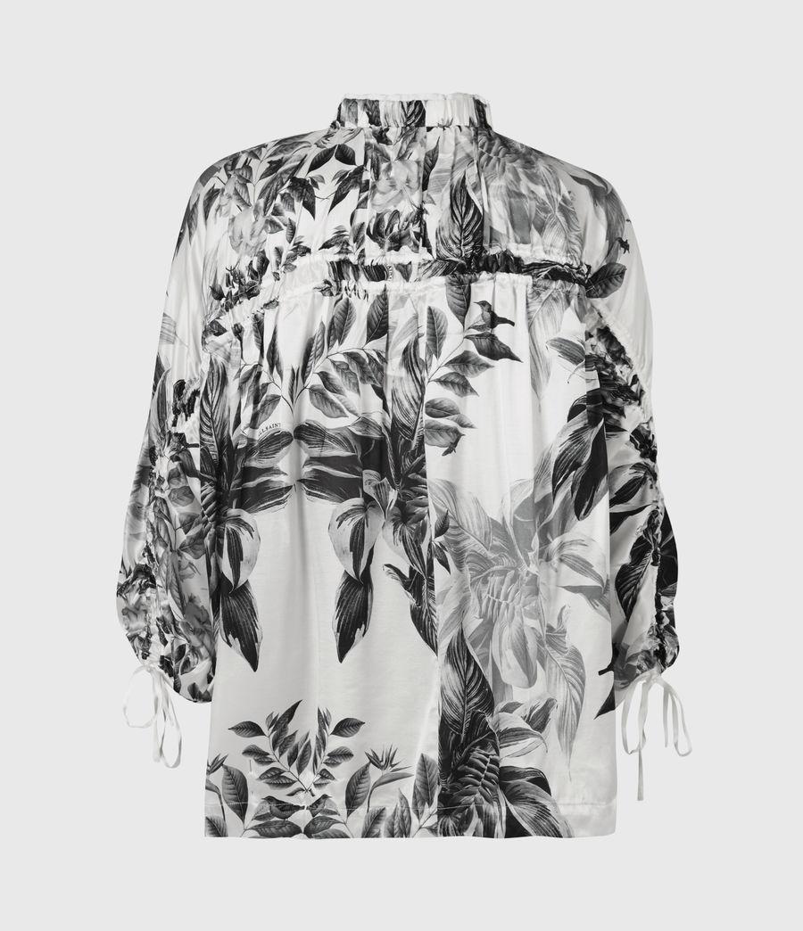 Femmes Rora Creation Silk Blend Top (white) - Image 3