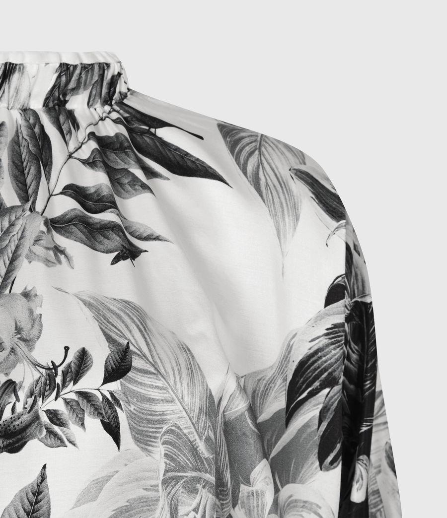 Femmes Rora Creation Silk Blend Top (white) - Image 5