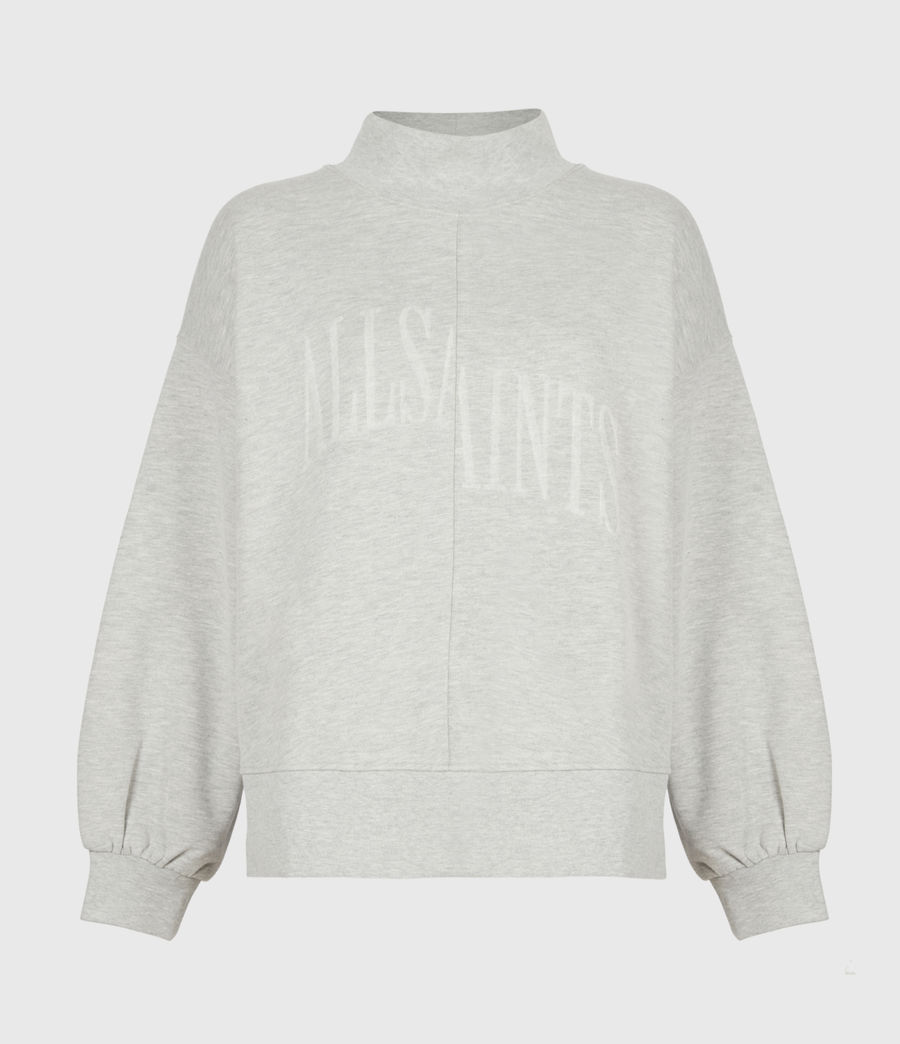 Women's Nevarra Split Saints Sweatshirt (grey_marl) - Image 2