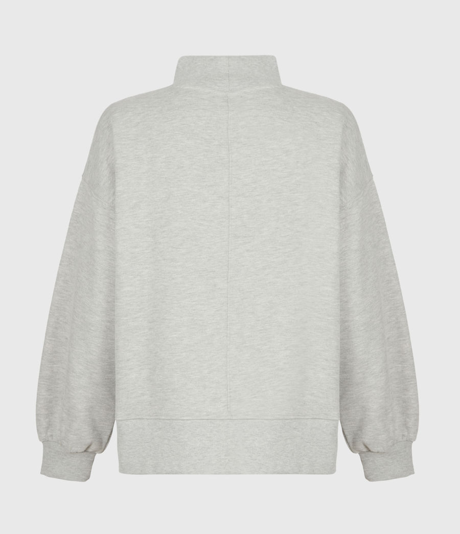 Women's Nevarra Split Saints Sweatshirt (grey_marl) - Image 3