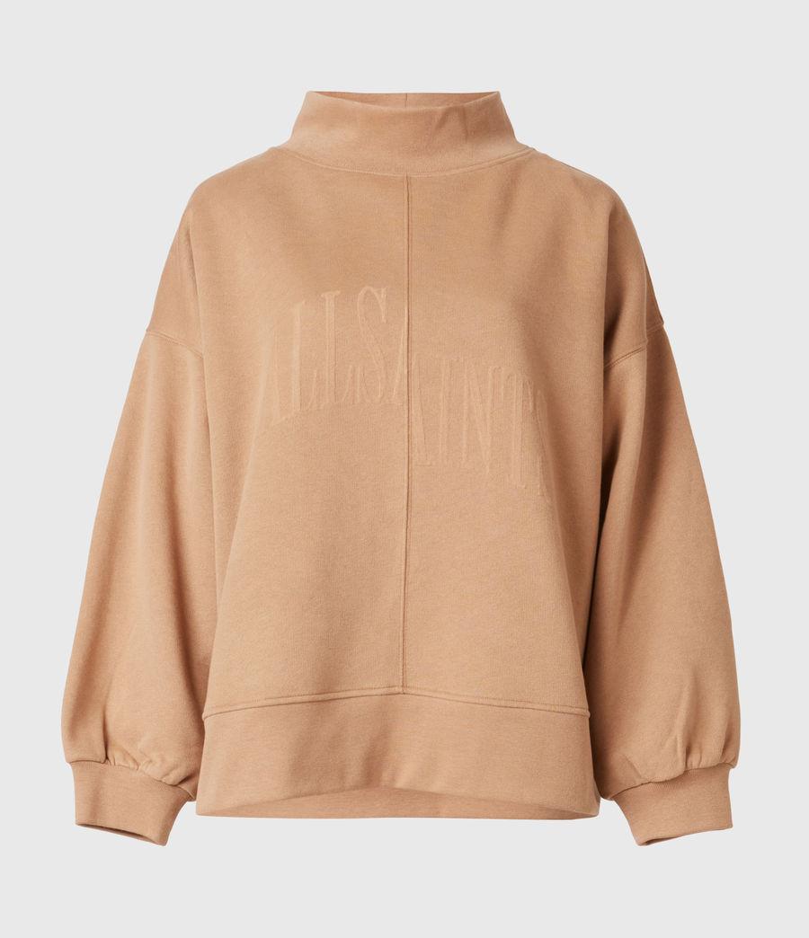 Women's Nevarra Split Saints Sweatshirt (desert_tan) - Image 2