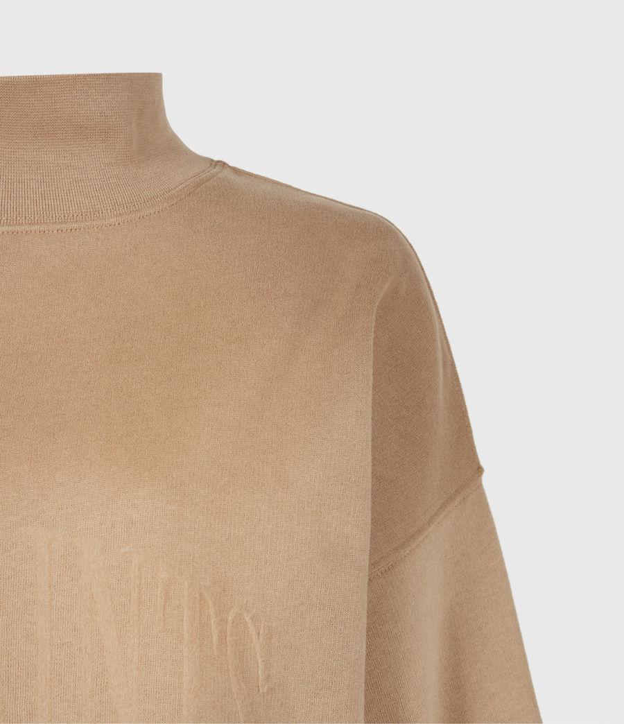 Women's Nevarra Split Saints Sweatshirt (desert_tan) - Image 5