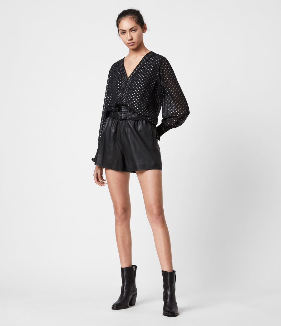 Women's Tenaya Dot Top (black) - Image 1