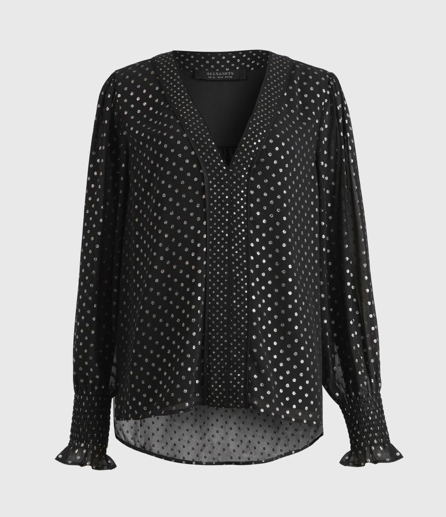 Women's Tenaya Dot Top (black) - Image 2