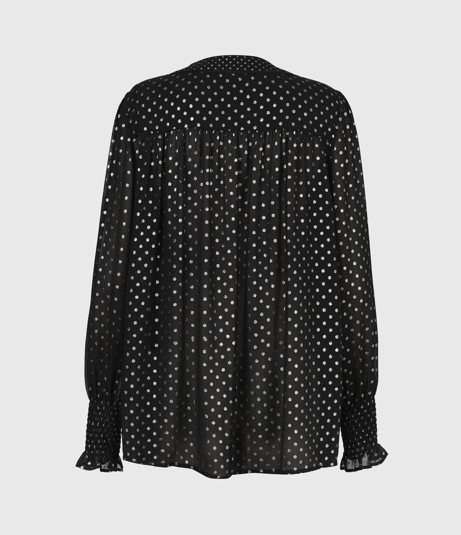 Women's Tenaya Dot Top (black) - Image 3
