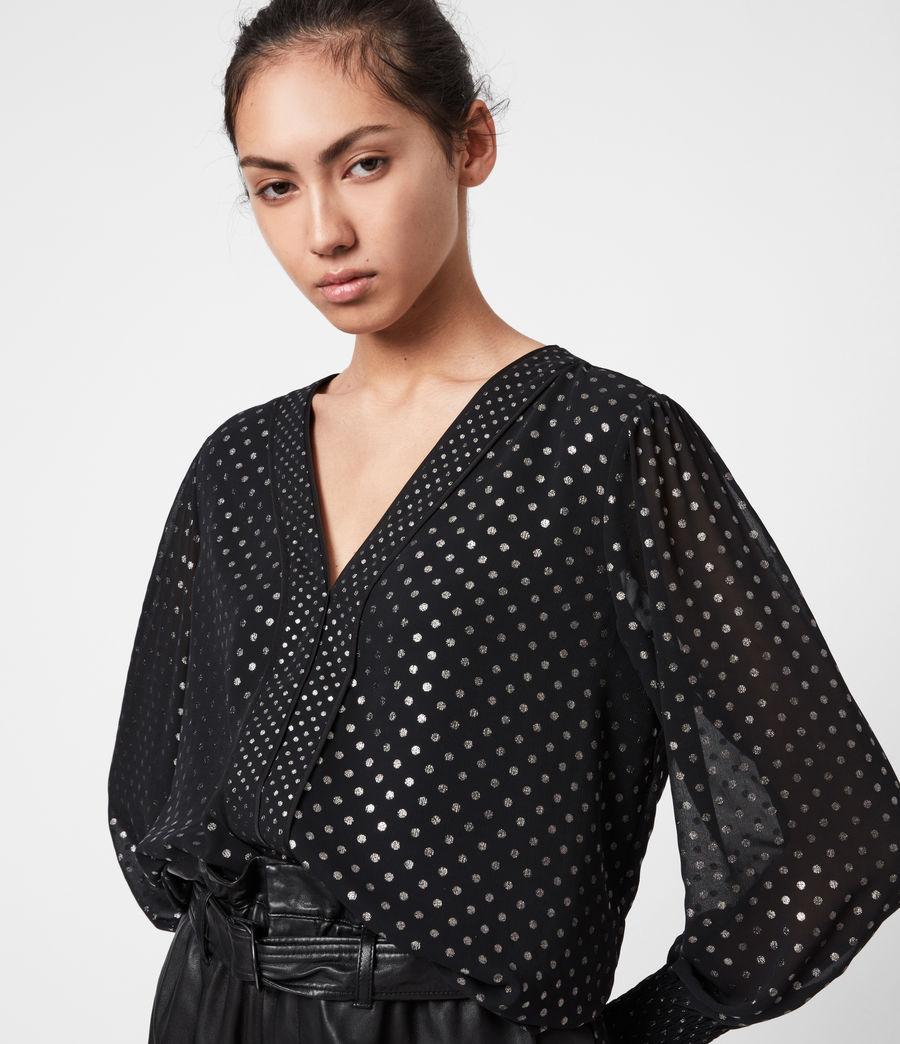 Women's Tenaya Dot Top (black) - Image 4
