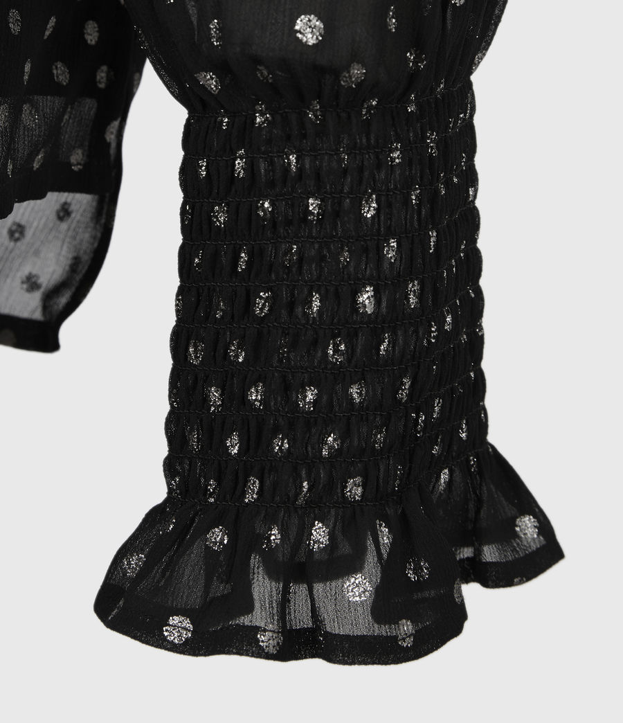 Women's Tenaya Dot Top (black) - Image 6