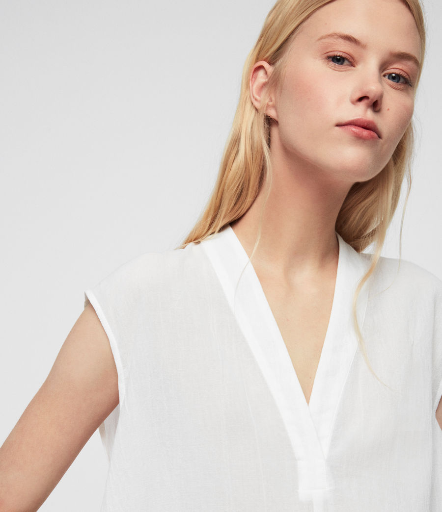 Womens Avee Top (chalk_white) - Image 3