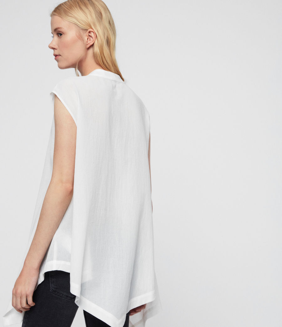 Women's Avee Top (chalk_white) - Image 5