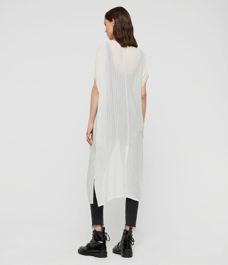 Damen Acira Offener Kaftan (chalk_white) - Image 4