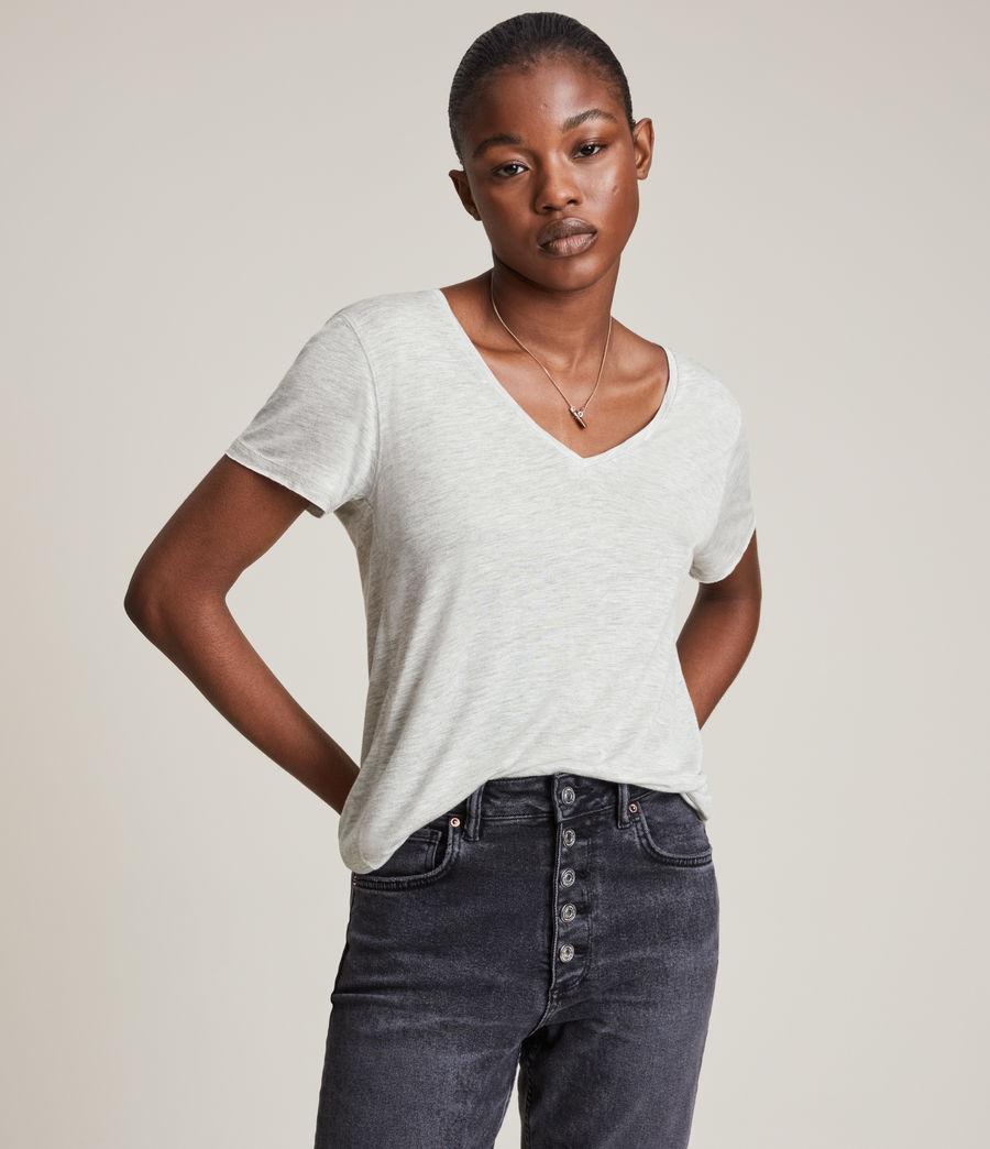 Women's Emelyn Shimmer T-Shirt (grey_marl) - Image 1