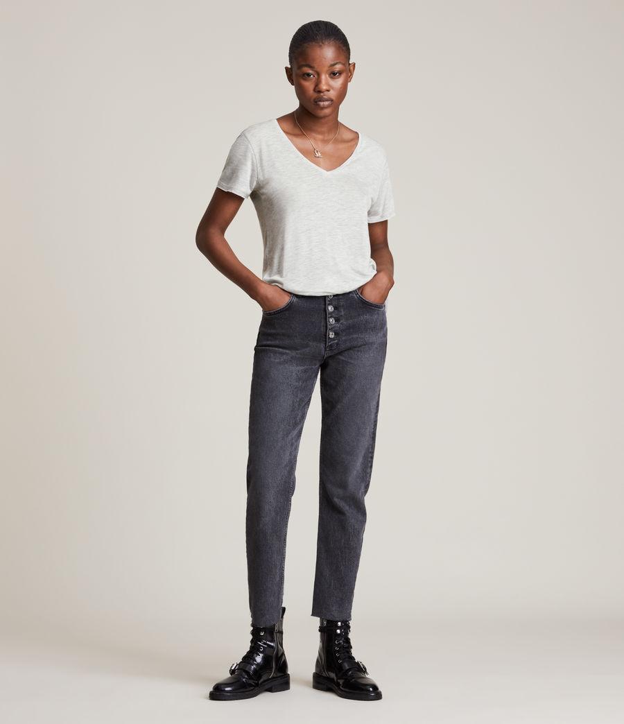 Women's Emelyn Shimmer T-Shirt (grey_marl) - Image 3