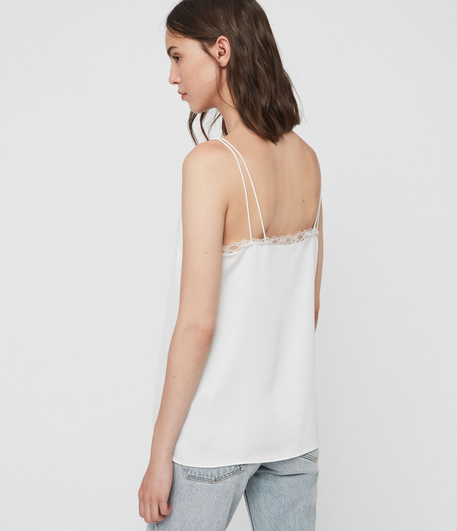 Women's Nia Top (chalk_white) - Image 5