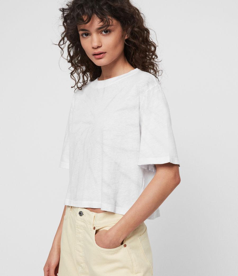 Womens Benno Tiedye T-Shirt (chalk_white_grey) - Image 1