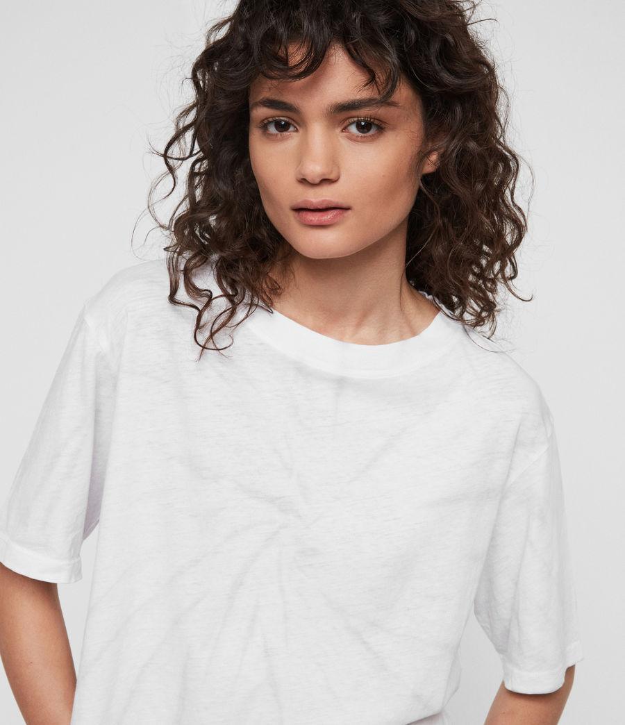 Womens Benno Tiedye T-Shirt (chalk_white_grey) - Image 3