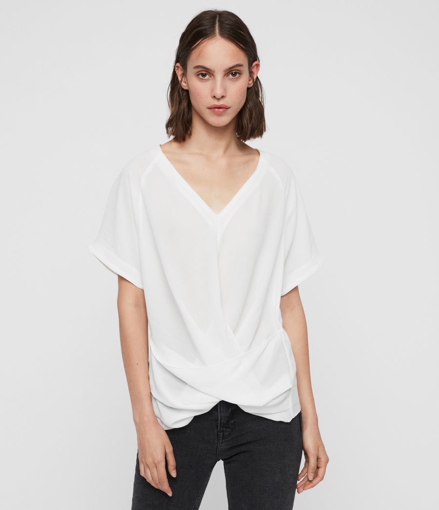 Women's Piper Top (chalk_white) - Image 1