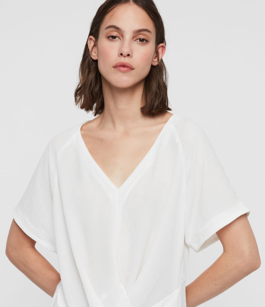 Women's Piper Top (chalk_white) - Image 2