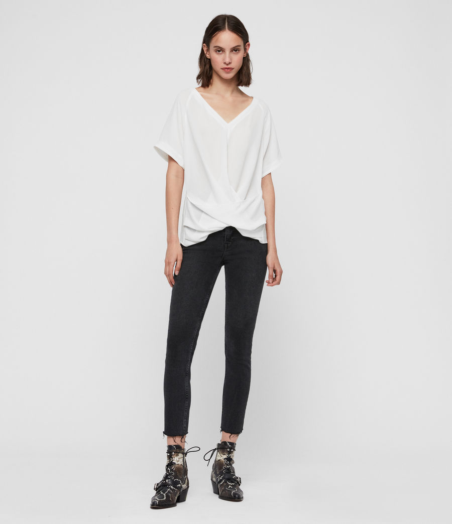 Women's Piper Top (chalk_white) - Image 3