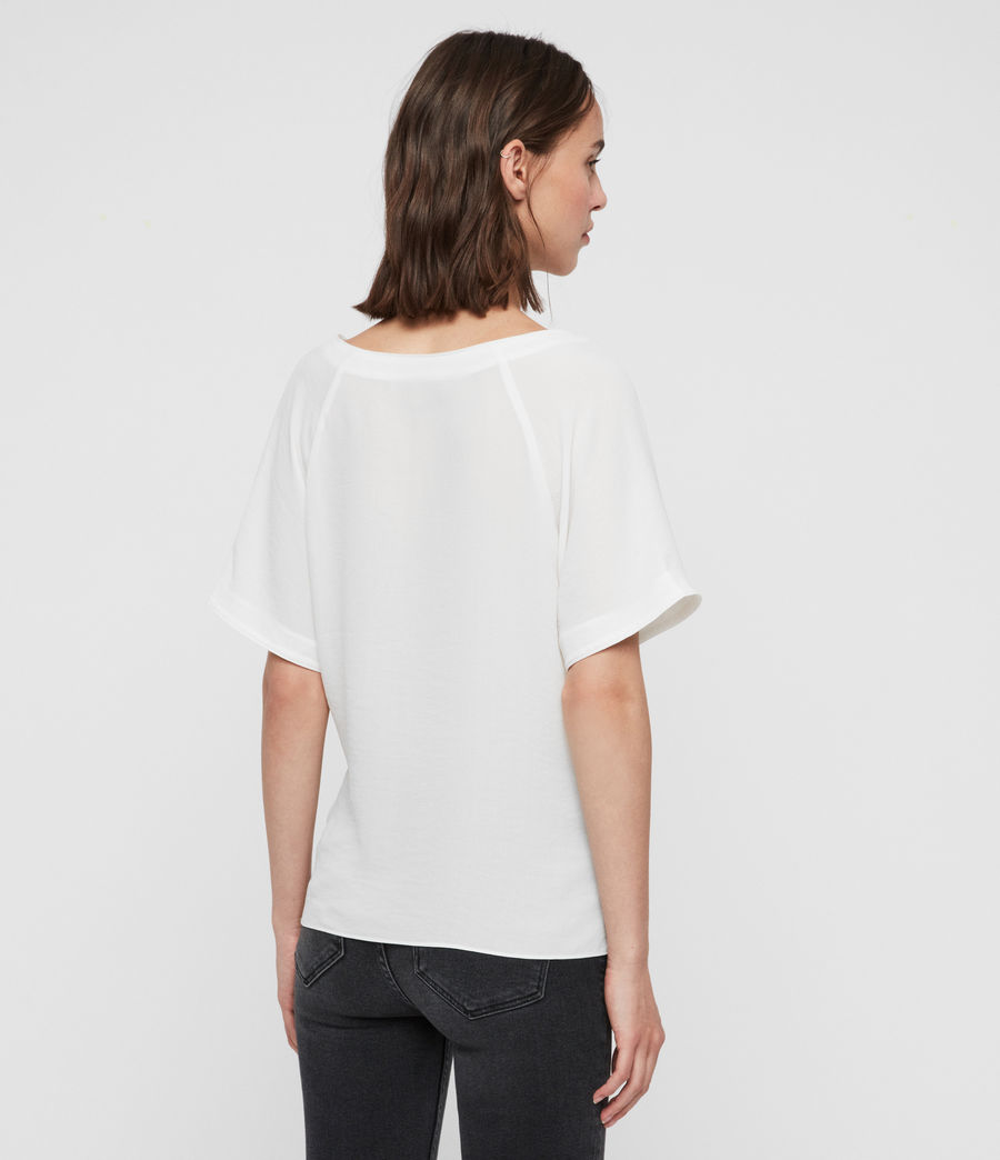 Women's Piper Top (chalk_white) - Image 6