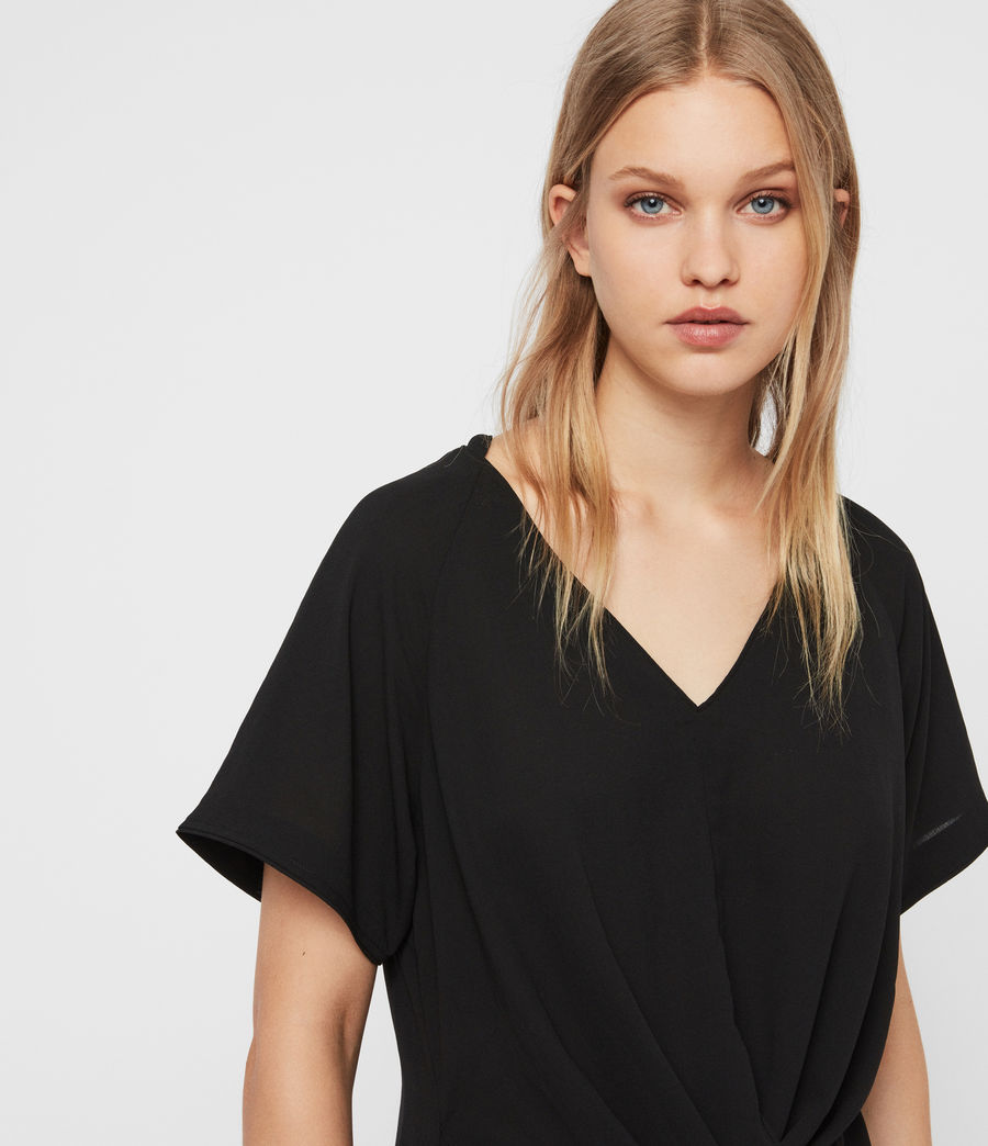 Damen Piper Top (black) - Image 2