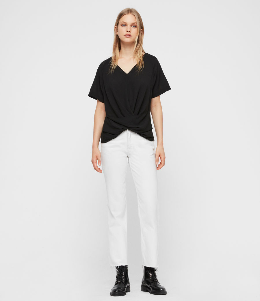 Damen Piper Top (black) - Image 3