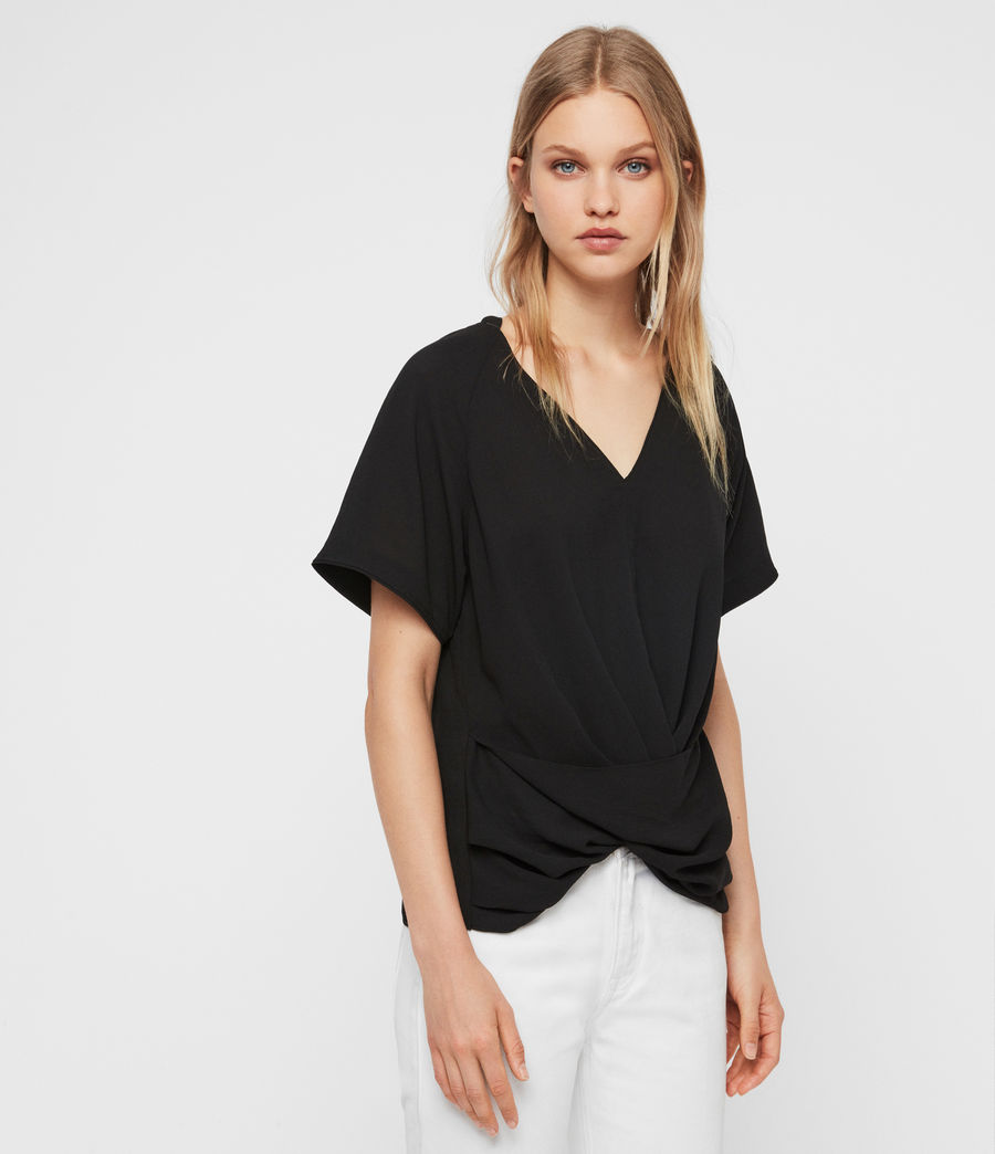 Damen Piper Top (black) - Image 4