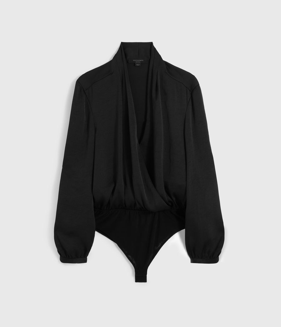 Womens Camille Bodysuit (black) - Image 6