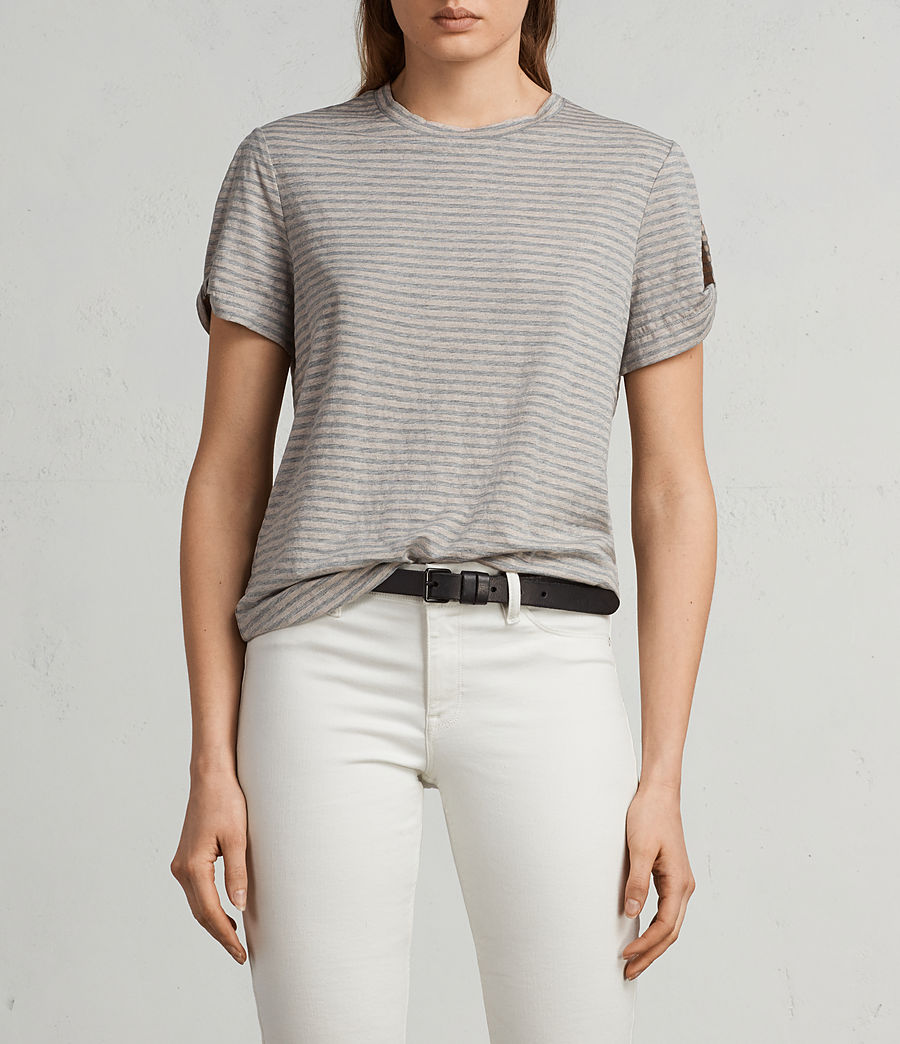 Damen Mazzy T-Shirt (pink_grey_marl) - Image 1