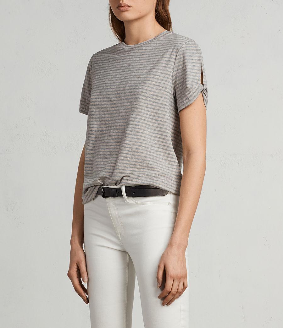 Damen Mazzy T-Shirt (pink_grey_marl) - Image 3