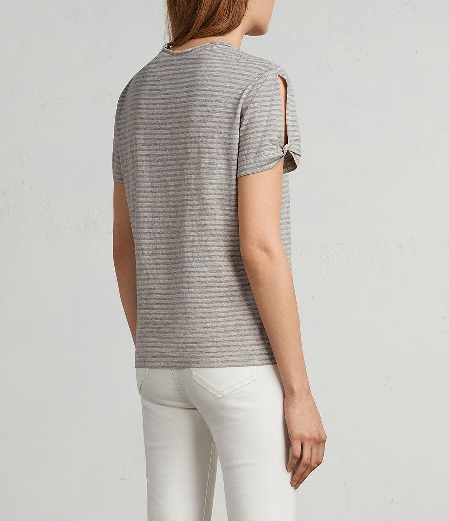 Damen Mazzy T-Shirt (pink_grey_marl) - Image 4