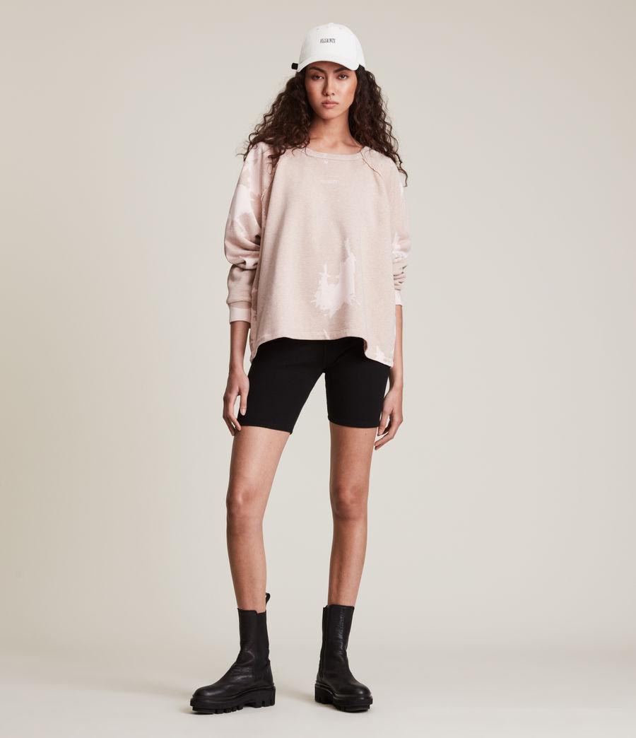 Womens Jessi Tie Dye Sweatshirt (pink_marl) - Image 3