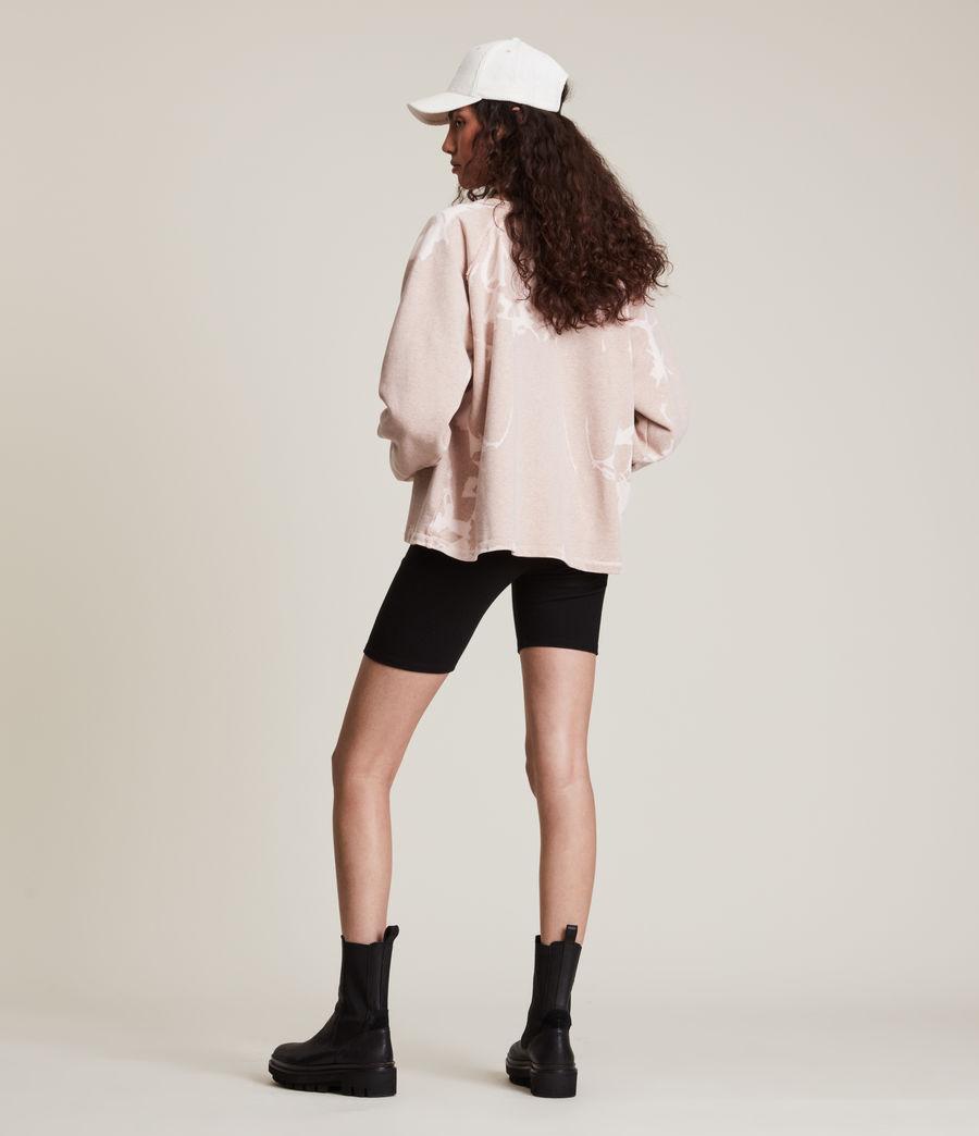 Womens Jessi Tie Dye Sweatshirt (pink_marl) - Image 5