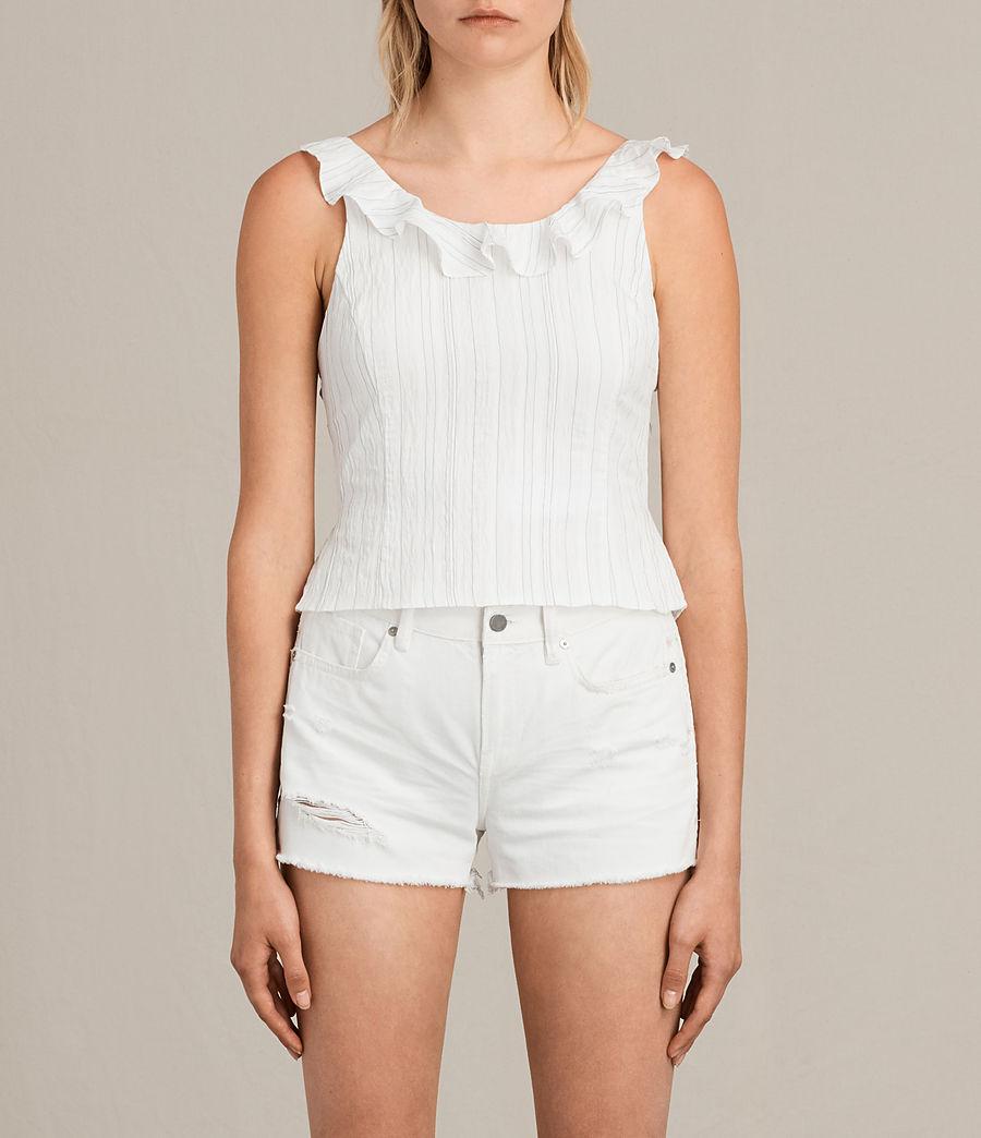 Femmes Top Stina (chalk_white) - Image 1