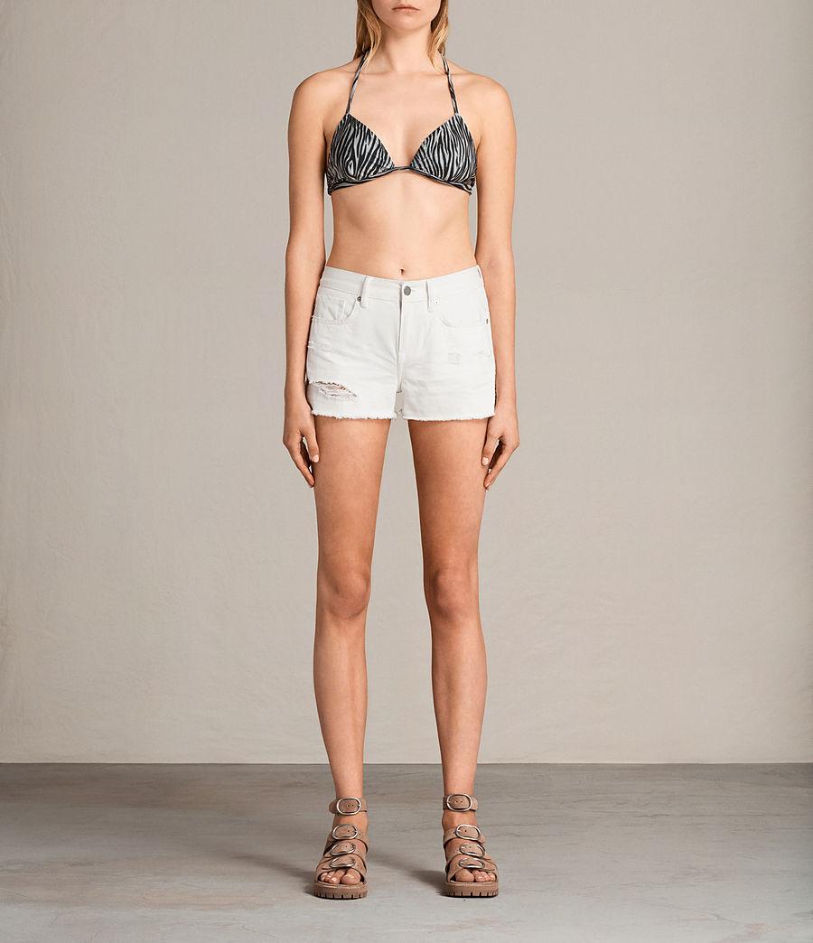 Donne Top Bikini Agnes Zebra (black_white) - Image 1