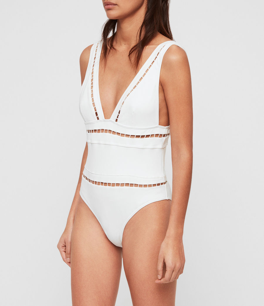 Womens Gorah Swimsuit (white) - Image 2