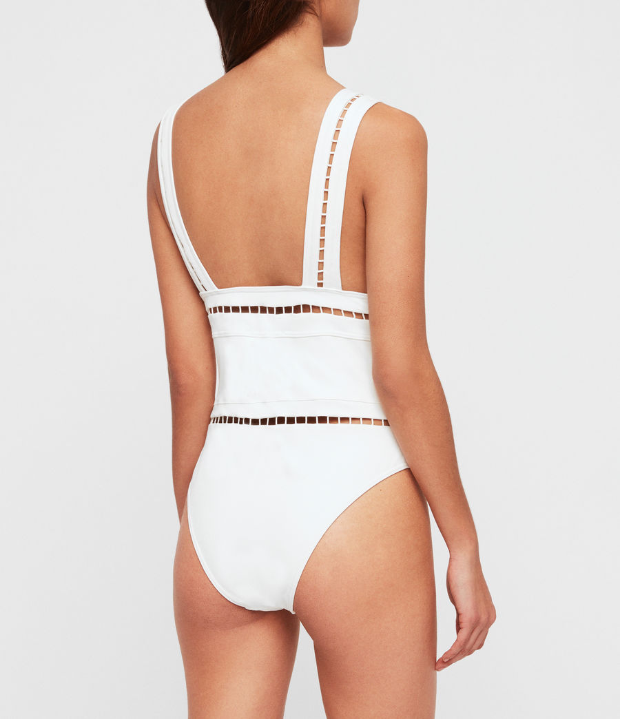 Womens Gorah Swimsuit (white) - Image 3
