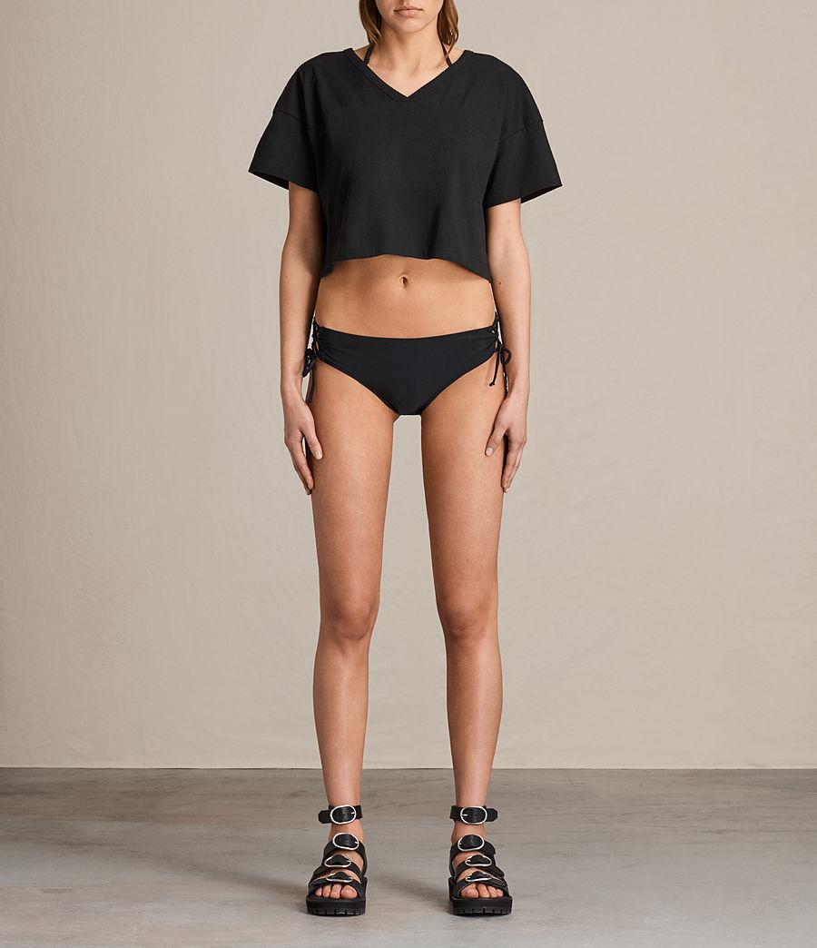Donne Slip Bikini Lazo (black) - Image 1