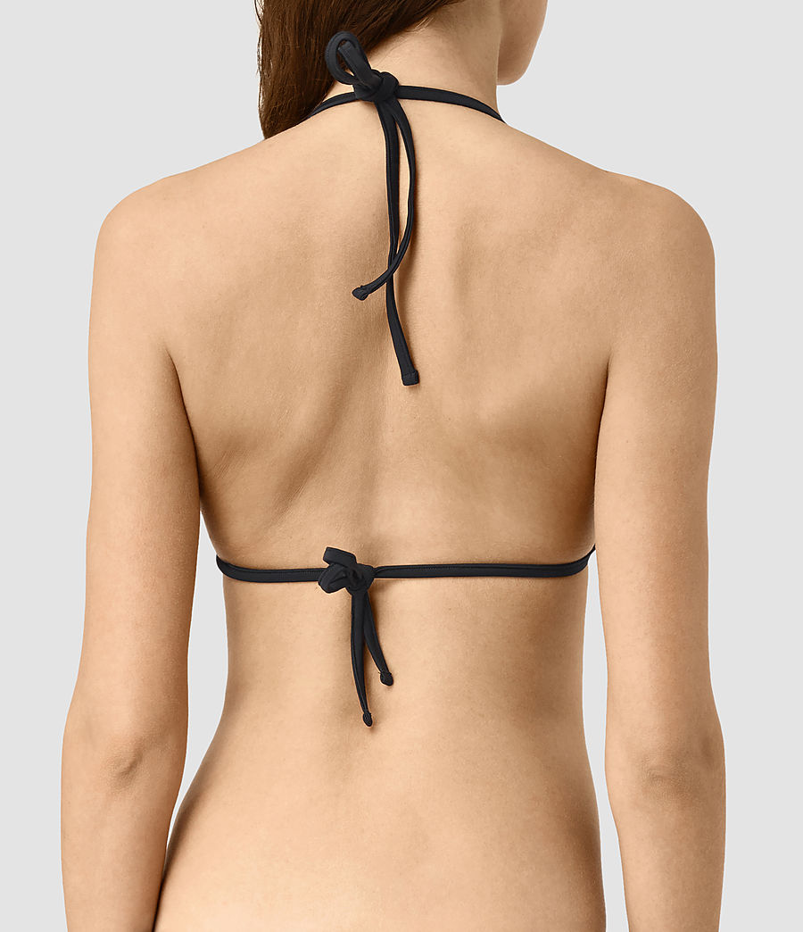 Women's Cassia Willow Bikini Top (chalk_white) - Image 4