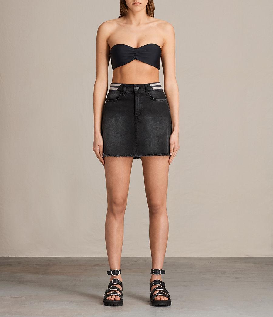 Donne Top Bikini Lazo (black) - Image 1