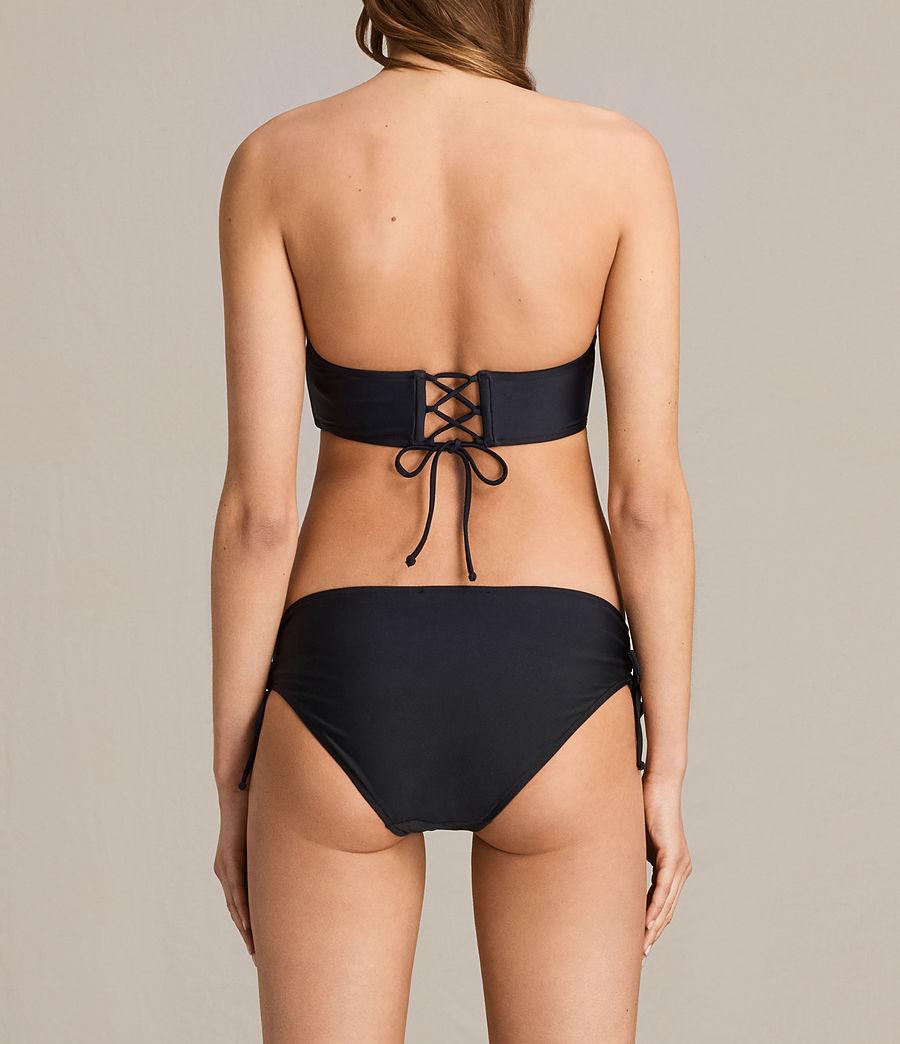 Donne Top Bikini Lazo (black) - Image 2