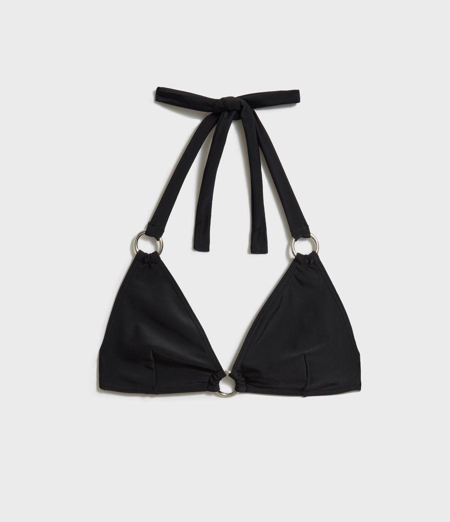 Women's Harlo Bikini Top (black) - Image 5