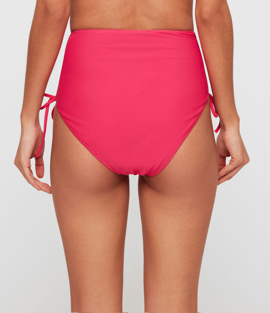 Femmes Maillot taille haute Lazo (pink) - Image 3