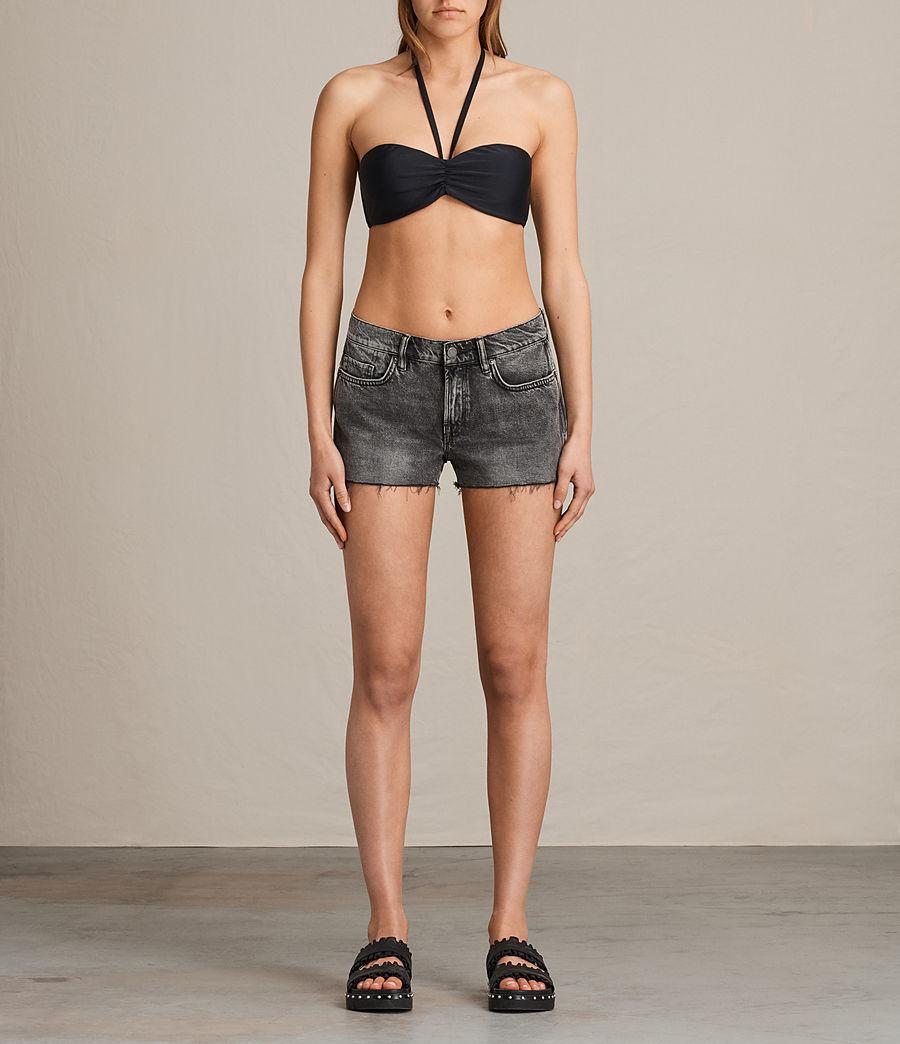 Women's Sofia Bikini Top (black) - Image 1