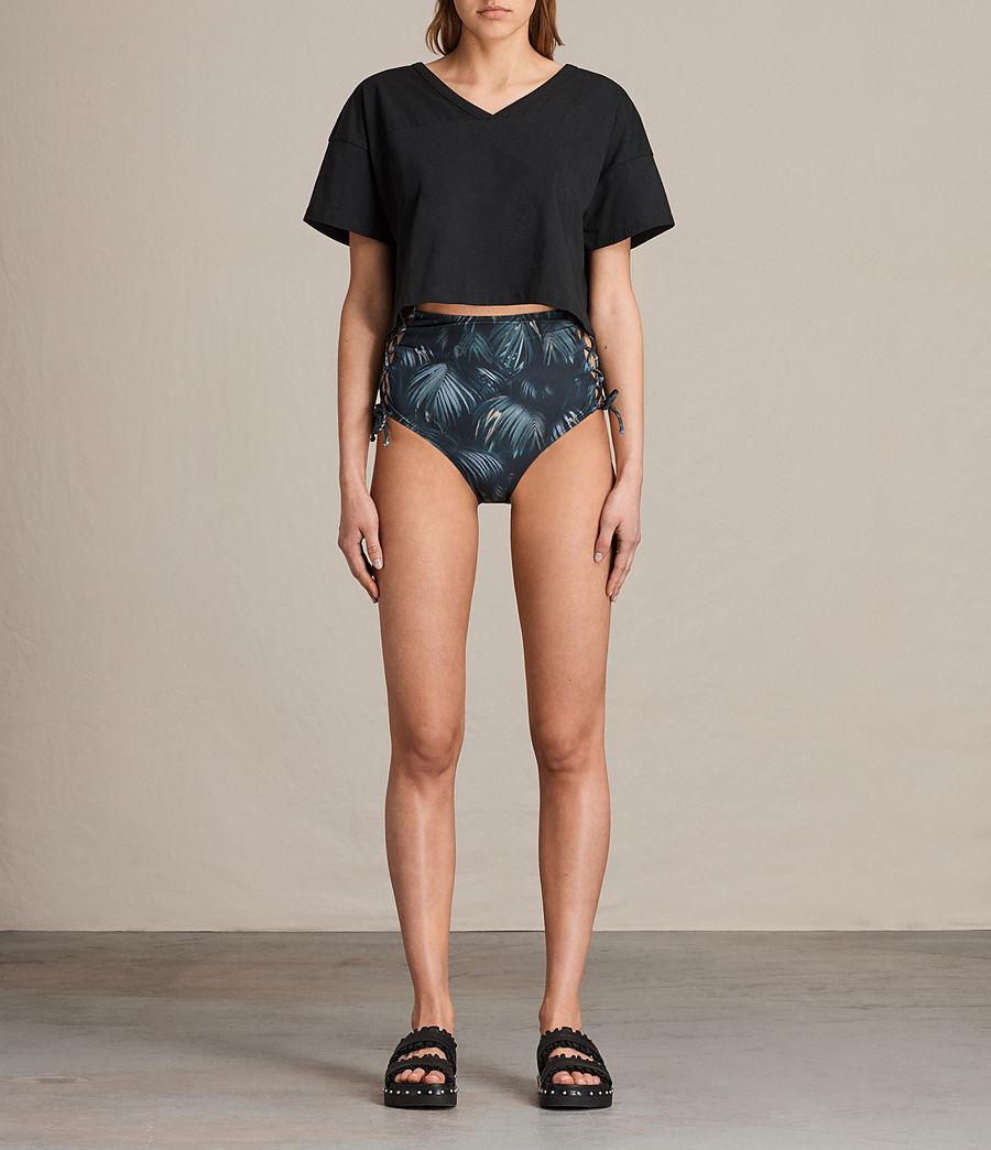 Donne Slip Bikini Lazo Neluwa vita alta (black) - Image 2