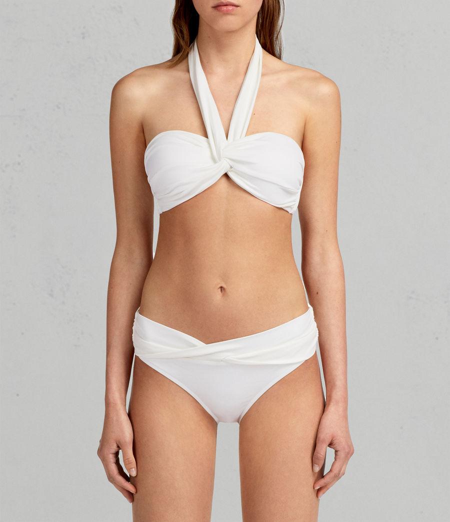 Womens Libbie Bikini Top (chalk) - Image 2