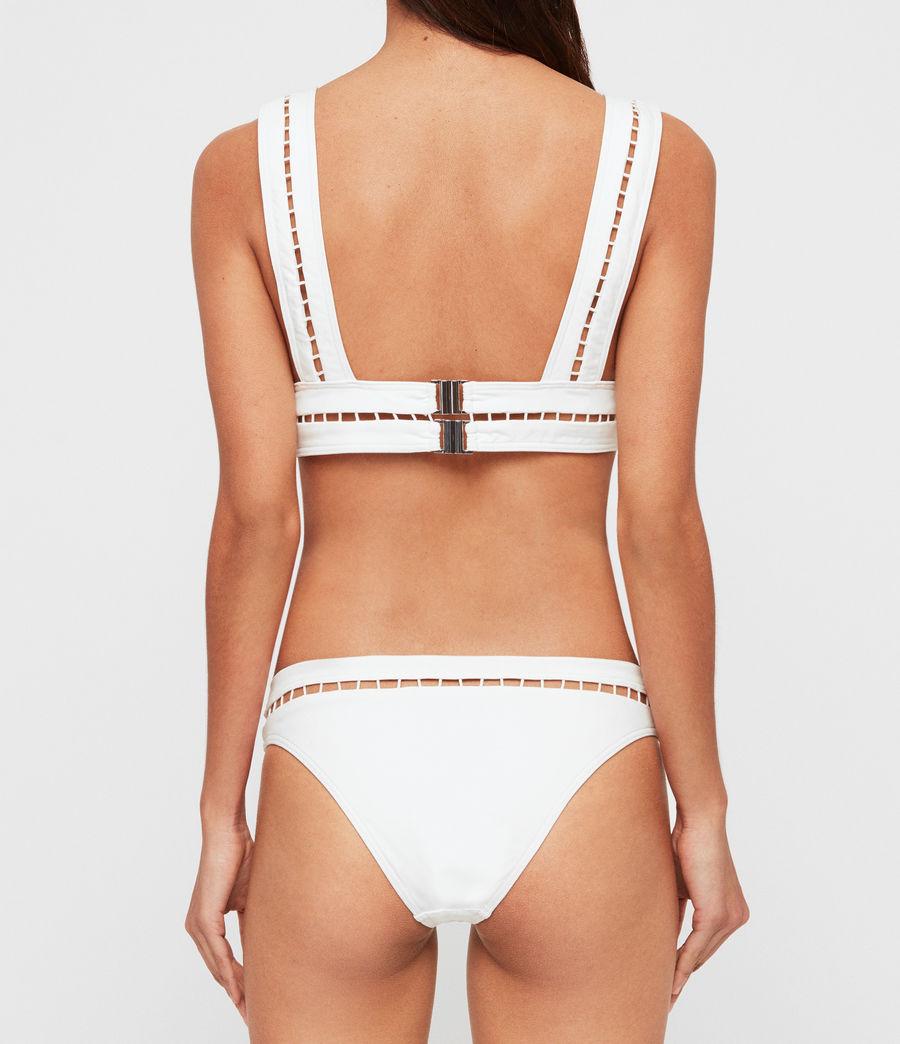 Womens Gorah Bikini Top (white) - Image 3