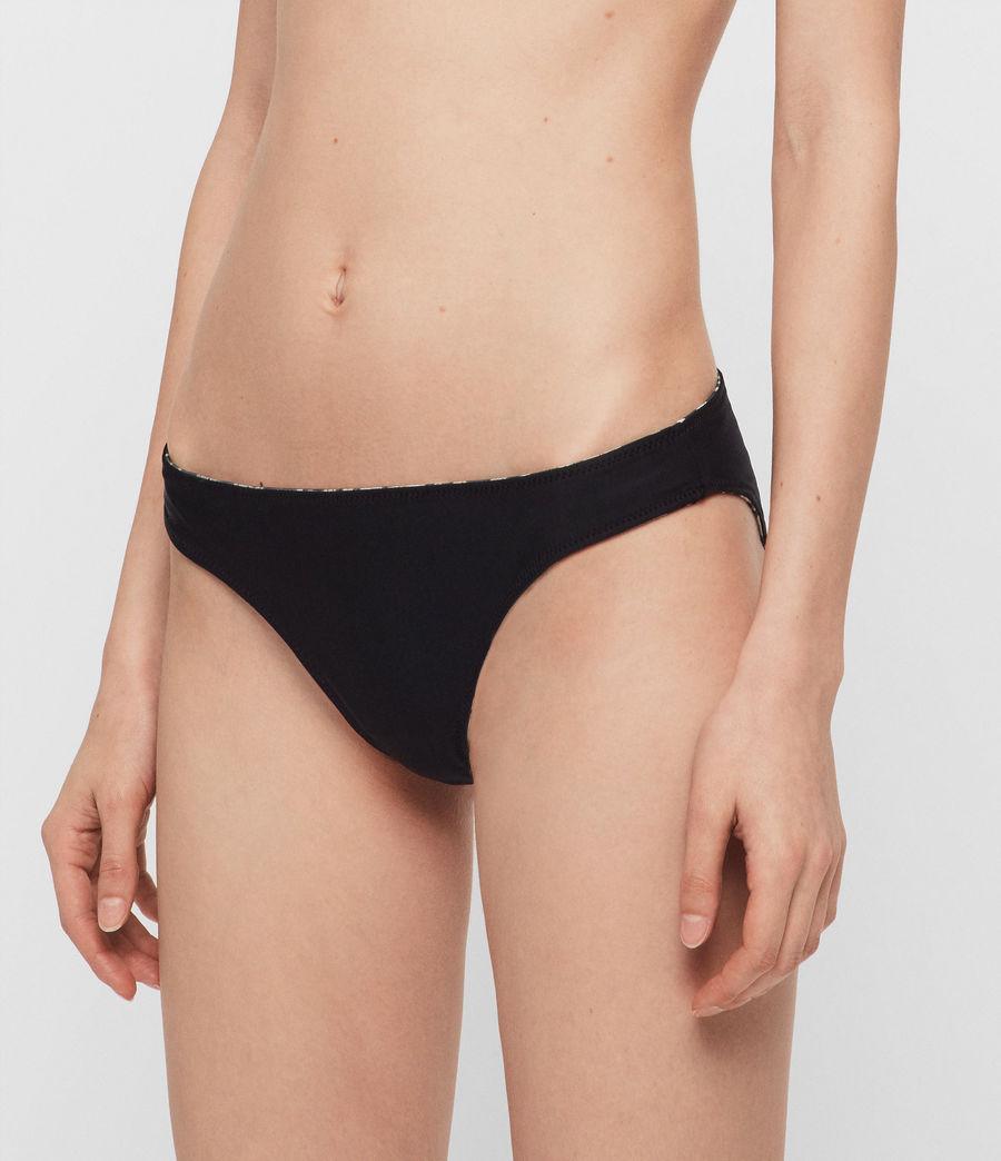 Women's Olivia Reversible Bikini Bottoms (leopard_black) - Image 5