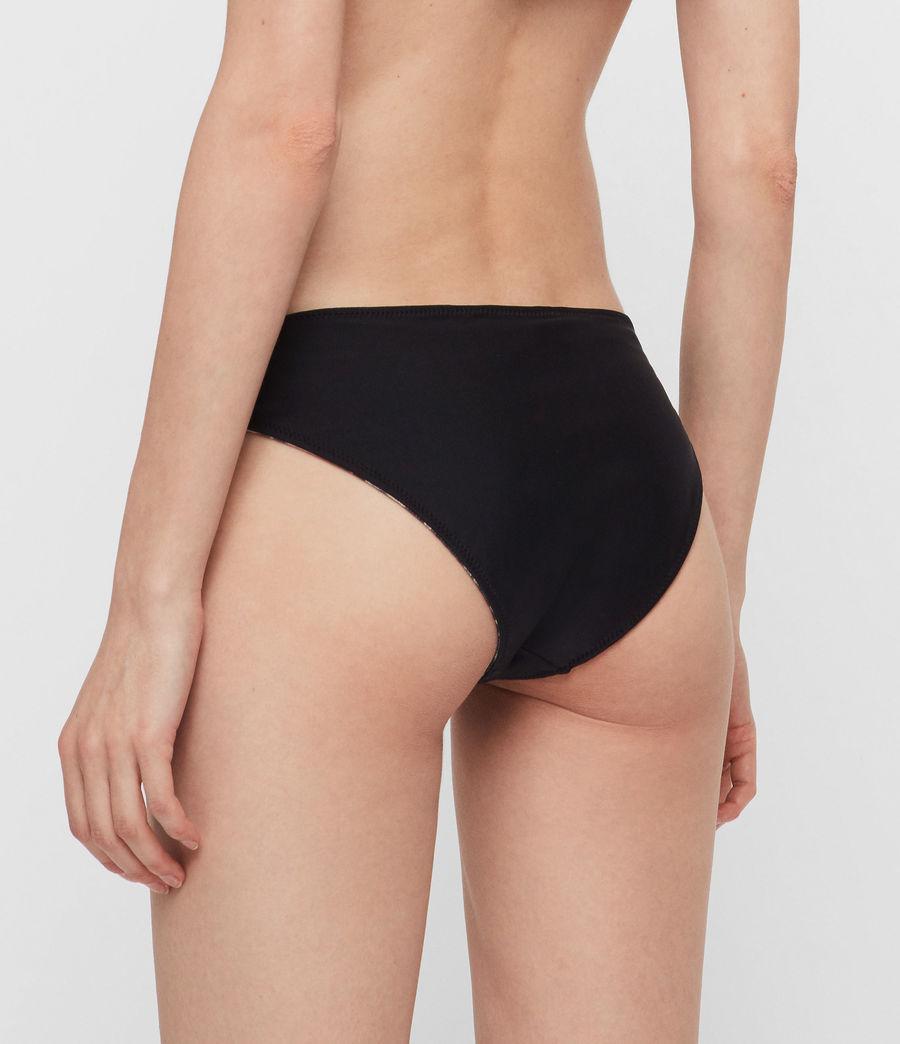Womens Olivia Reversible Bikini Bottoms (leopard_black) - Image 6